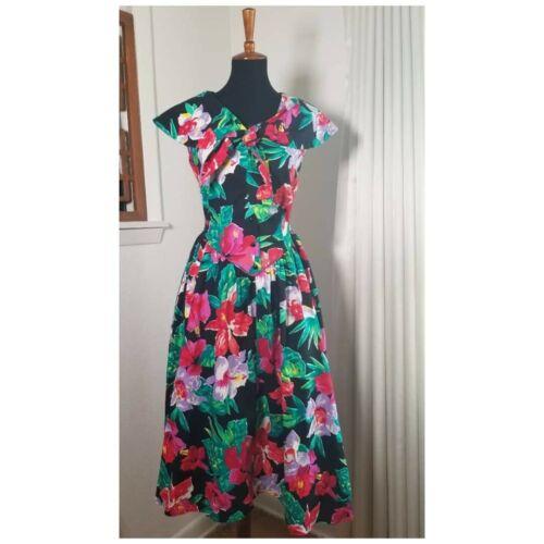 Vintage 80's Garden Party Dress