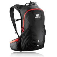 Salomon 20 Red Black Trail Running Outdoors Backpack Rucksack Pack Bag