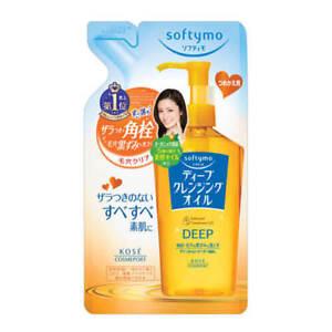 ☀ Kose softymo глубиной очищающее масло, средство для снятия макияжа для заправки 200 мл