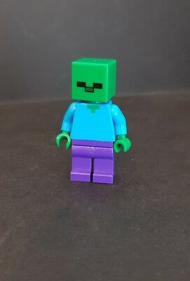 NEW LEGO ZOMBIE FROM SET 21113 MINECRAFT MIN010 Building Toys Toys & Hobbies