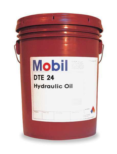 Mobil DTE DTE DTE 24, Hydraulic, ISO 32, SAE Grade 10, 5 gal. MOBIL 105466 4edcdb