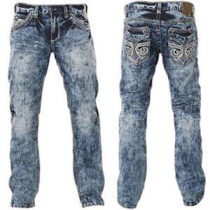 AFFLICTION-38-NWT-Black-Premium-Ace-Fleur-Valdez-Straight-Jeans-110SS125-38X34