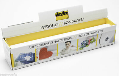 Vliesofix 20mm Vilene Vlieseline From 5m Tape Without Sew Ironing Tape Bondaweb