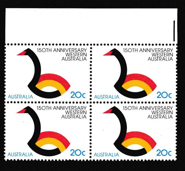 1979 Western Australia 150th Anniversary Block of 4  MUH