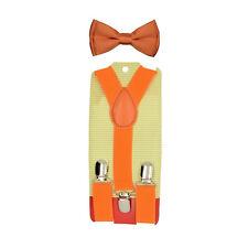 428b76e3a928 item 2 Set Of Kids Toddler Children Boys Plain Elastic Suspender & Bow Tie - Set Of Kids Toddler Children Boys Plain Elastic Suspender & Bow Tie