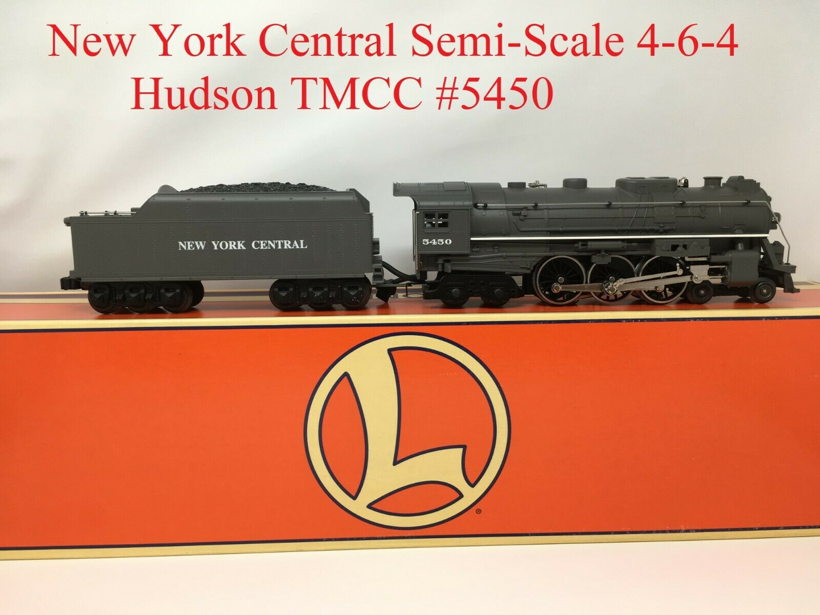 LIONEL 6-28030 New York Central Semi-Scale 4-6-4 Hudson (grigio)  TMCC  5450 O