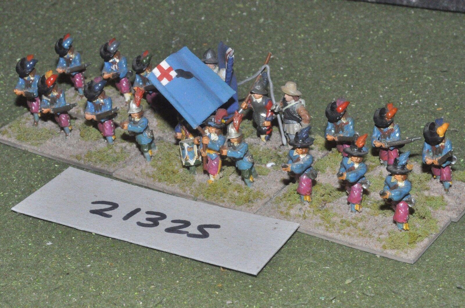 25mm ECW   english - civil war infantry - inf (21325)