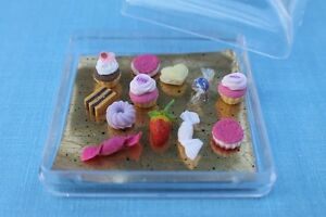 Mini-Sweet-Stuff-12-pcs-for-American-Girl-Doll-Food-Accessory-18-034-amp-Wellie
