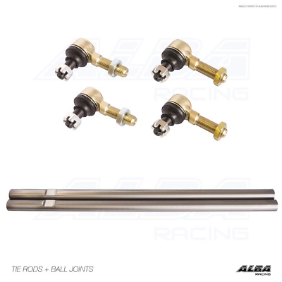 Raptor 700 YFZ 450  Heavy Duty Stainless Steel Tie Rods   Alba Racing 0 12mm