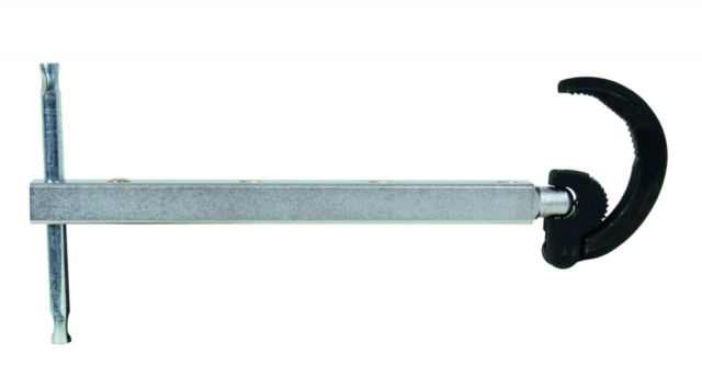 """General Tools 140XL Basin Wrench Large Jaw, 11"""" to 16"""""""