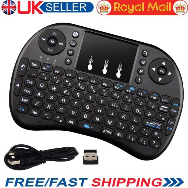 Mini Clavier Sans Fil 2.4 G USB Clavier Pavé Tactile Pour HDTV PC XBMC Android TV Box
