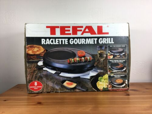 Tefal Raclette Gourmet Grill 8 Trays Working And Tested