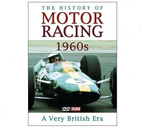 1 of 1 - THE HISTORY OF MOTOR RACING 1960's DVD - A Very British Era Duke - SAVE 50% New