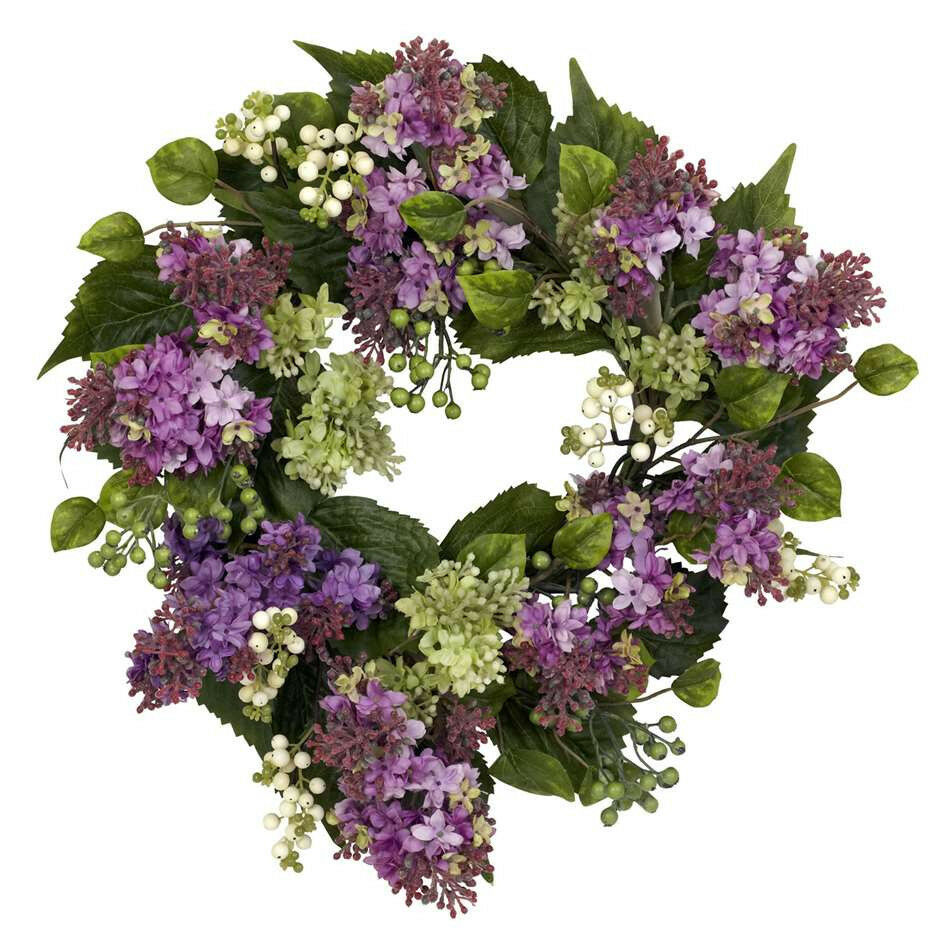NEARLY NATURAL  20  Hanel Lilac Wreath
