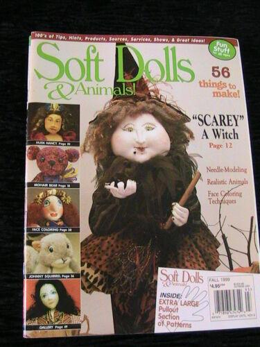 tips magazine techniques SOFT DOLLS /& ANIMAL WINTER 1997 doll patterns