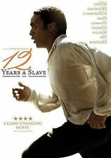 12 YEARS A SLAVE CHJWETEL EJIOFOR BRAD PITT TRUE STORY DVD LK-NEW VIEWED  TWICE