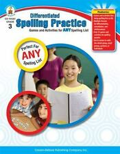 Differentiated Spelling Practice, Grade 3: Games and Activities for Any Spelling