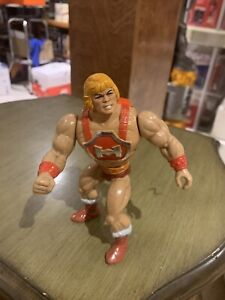 1984 MOTU THUNDER PUNCH HE-MAN ACTION FIGURE ONLY/MATTEL/TAIWAN/VERY GOOD+!!!!!!