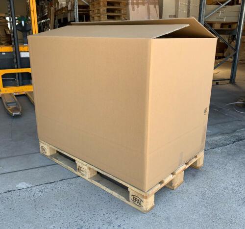 5er Palettenkarton Paletten Container Versand Faltkarton XXL 1190 x 800 x 870 mm