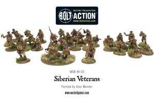 Warlord Games BNIB Siberian Veterans WGB-RI-03