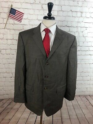 Clothing, Shoes & Accessories Clothing, Shoes & Accessories Lovely Axcess Men's Brown Textured Wool Blazer Sport Coat Suit Jacket 46r $295