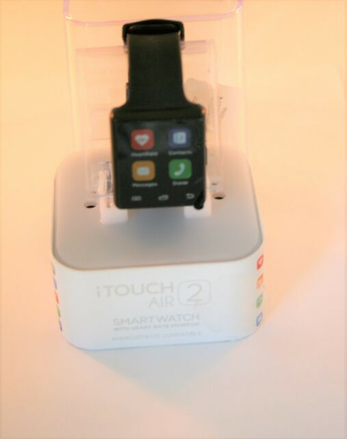 iTOUCH Wearables Air 2 Smartwatch Fitness Tracker Black for sale online   eBay