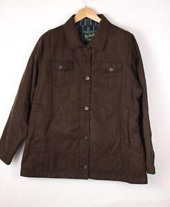 Woolrich Damen Freizeit Kragen Jacke Mantel Größe 2XL (XXL) ATZ122