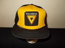 VTG-1980s Kocolene Oil Company Gas Kerosene dealer mesh snapback hat sku24