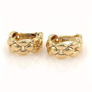Image Is Loading Cartier 18k Yellow Gold Open Fancy Woven Design