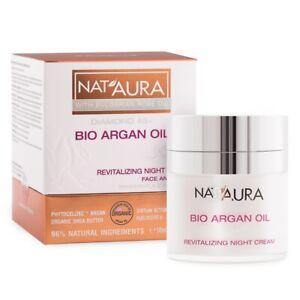 NAT-039-Aura-naturale-Rivitalizzante-Crema-Notte-45-con-BIO-OLIO-DI-ARGAN-50-ML