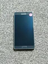 SAMSUNG Galaxy Nota 4 sm-n910f 32GB-Antracite Nero Sbloccato (buone condizioni)
