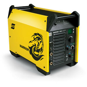 Esab Warrior 400iw Welder Welding Machine Mig Mag 500a Mma Tig Lift Cooler Ebay