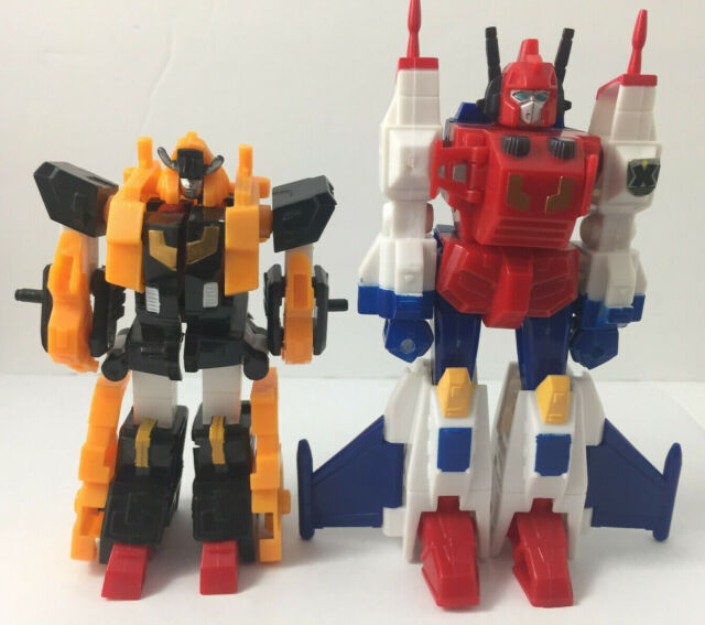 Takara Robot Masters Star Saber And Victory Leo RM15 And RM16 Transformers