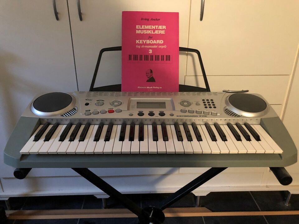 Keyboard, 772 Junior keyboard