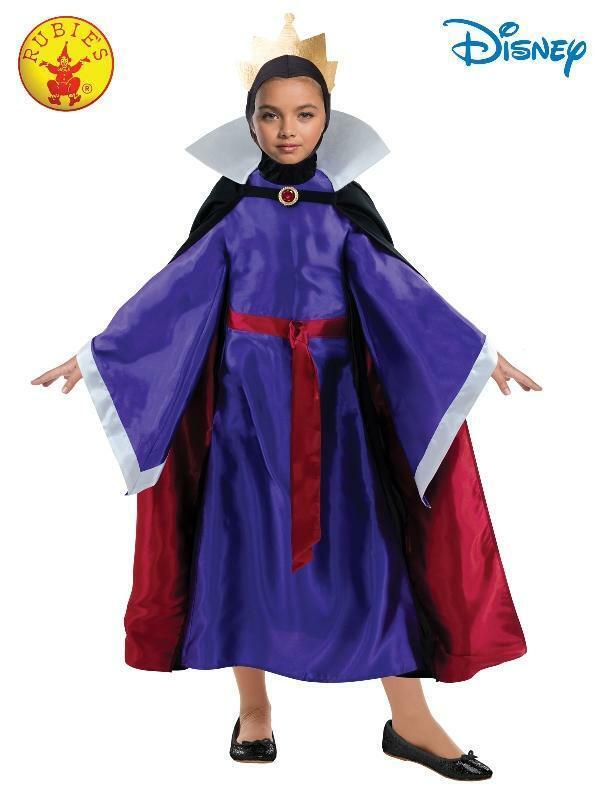 Kid Girls Evil Queen Costume Disney Snow White Book Week