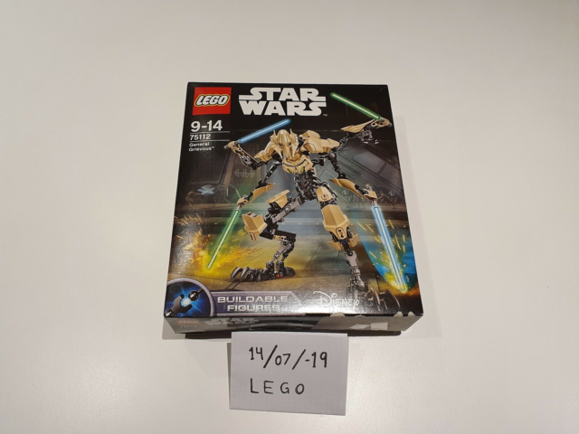 Lego Star Wars, 75112, General Grievous - åbnet