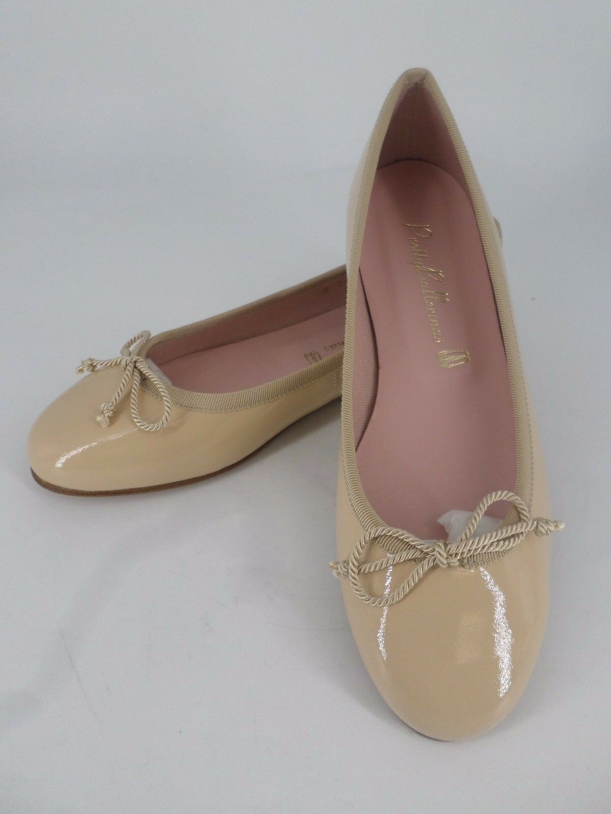 Pretty Ballerinas Marilyn Leather Patent schuhe Nude UK 3 EU 36 LN19 53 SALEs