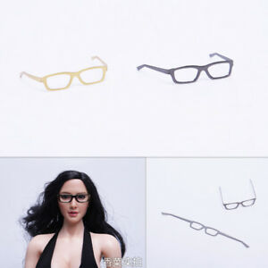 2018 1//6 Scale Female Soldier Doll Figure Model Fashion Sunglasses Glasses NEW/%