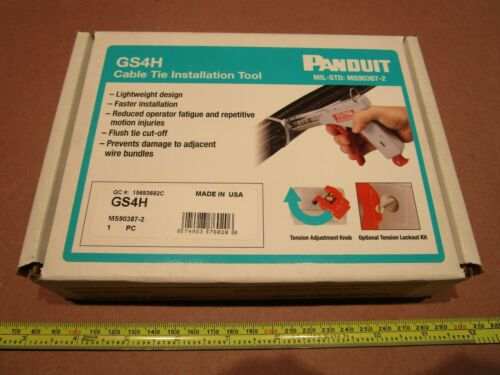 Panduit GS4H Cable Tie Installation Tool MS90387-2