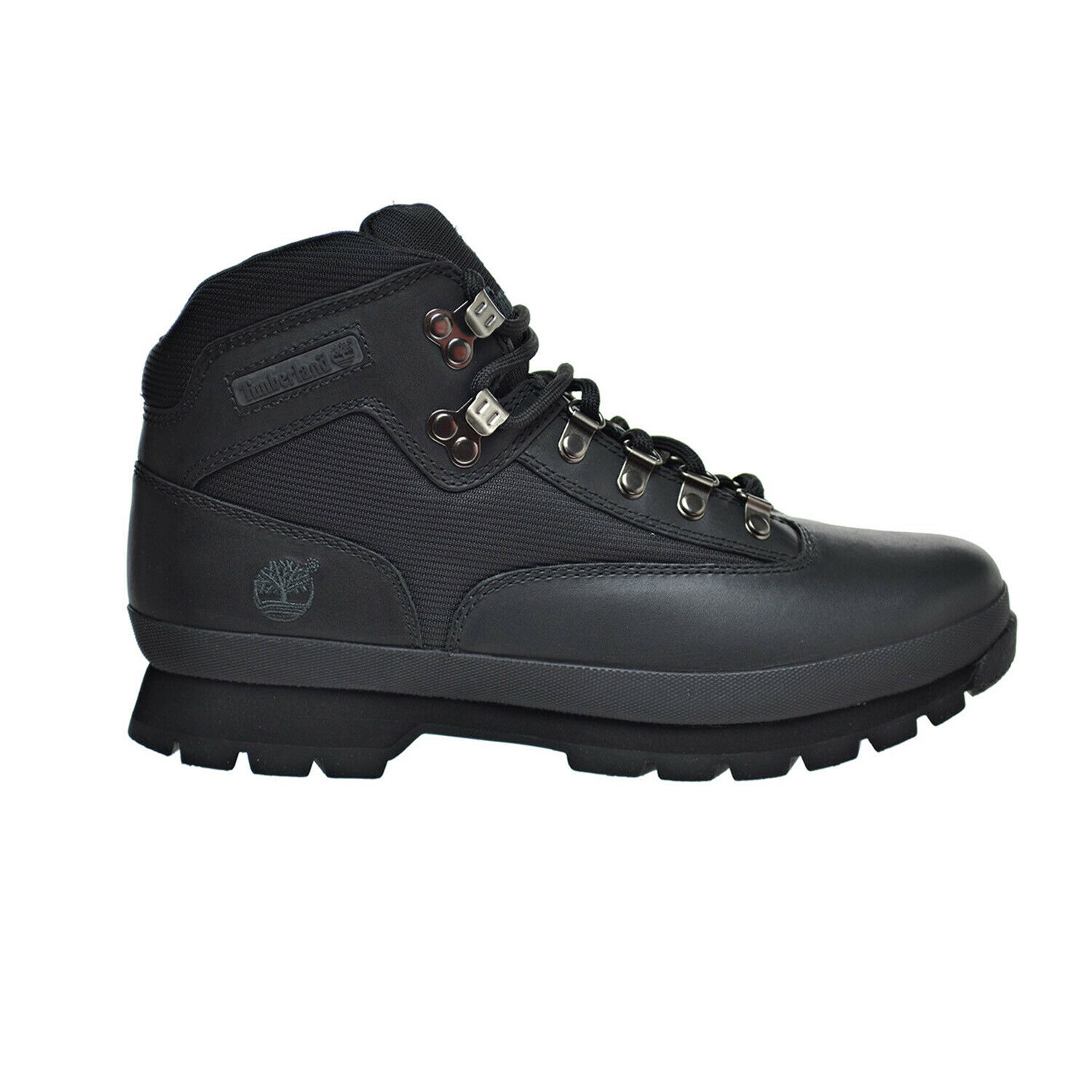 f226b228743 Timberland 56038 Euro Hiker Black Smooth Men's Size 7 to 11 8