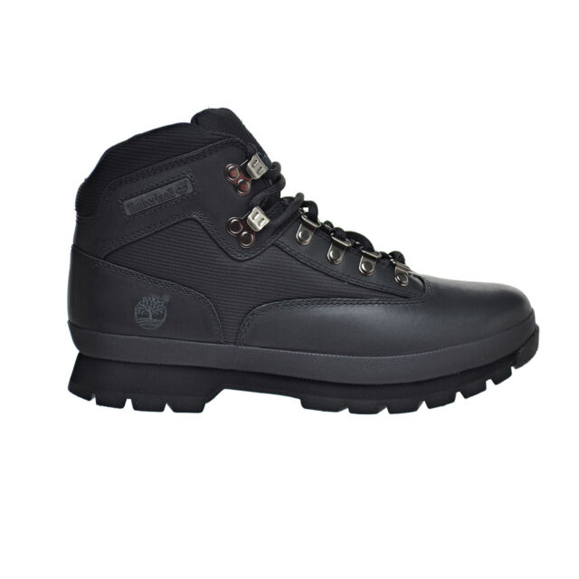 Timberland Euro HiKer Men's Leather Boots Black 56038