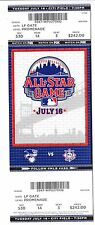 2013 MLB ALL STAR GAME FULL UNUSED TICKET STUB $242 FV MINT MARIANO RIVERA MVP