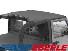 Header Bikinitop Verdeck Dach Bestop Black Diamond Jeep Wrangler JK 07-09