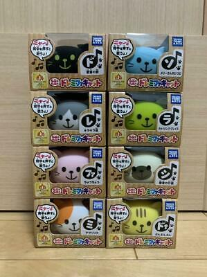 TAKARA TOMY Doremifa cat All 8 Kinds of Set Do-re-mi-fa CAT Squeeze Toy
