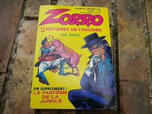 ZORRO-COULEUR-n-20-bis-Edition-OCCIDENT-1979-tres-bon-etat-comme-neuf