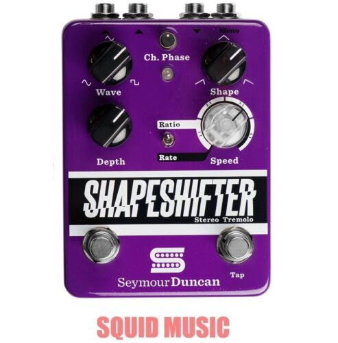 Seymour Duncan Shape Shifter Hi-Def Stereo Tremolo Pedal 11900-005 Open Box