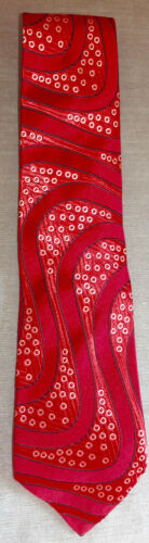Mimi Fong Silk Tie Red