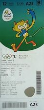 TICKET M 12.8.2016 Olympic Rio Basketball Men's France - Venezuela # A23