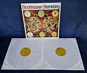 KARLHEINZ-STOCKHAUSEN-STOCKHAUSEN-STERNKLANG-DEUTSCHE-GRAM-2-LP-GERMAN
