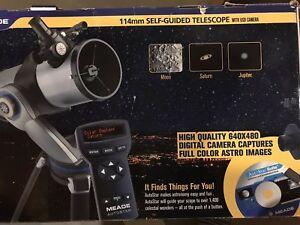 Meade-DS-2000-Series-114mm-Self-Guided-Telescope-W-USB-Camera-Original-Pkg